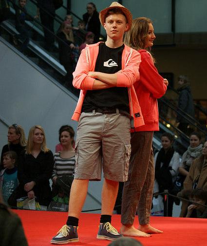 Soffie Dance Studio med modeshow i Lyngby Storcenter med Lasse og Maria