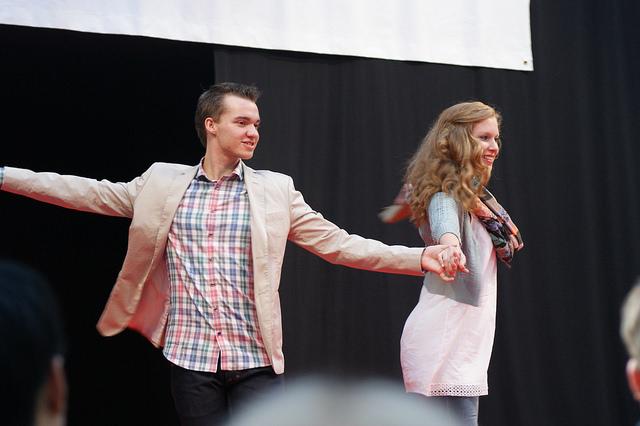 Soffie Dance Studio med modeshow i Lyngby Storcenter med Martin og Mia