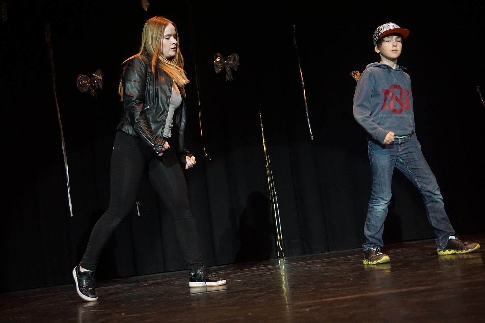 hip hop på scenen
